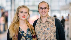 Amanda Pasanen ja Sameli Sihvonen, Helsinki, 19.08.2019