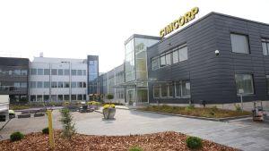 Cimcorp Oy:n julkisivu Ulvilassa.