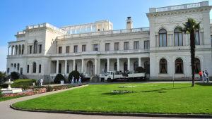 Lividiapalatset i Ukraina där Jaltakonferensen hölls.