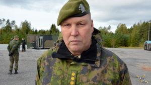 Pionjärinspektör, överste Matti Lampinen.