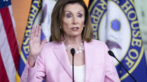 Representanthusets talman Nancy Pelosi
