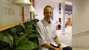 Patrik Finne är njurspecialist vid Mejlans sjukhus i Helsingfors.
