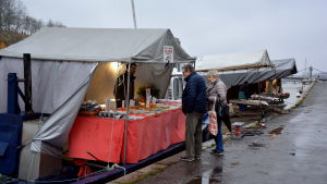 Strömmingsmarkanden i Åbo 2019.