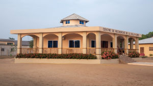Villa Karon tutkimuskeskus Grand Popossa Beninissä.