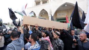 Israel dödade förra veckan en ledare för palestinska Islamiska Jihad genom en missilattack mot hans hem i Damaskus