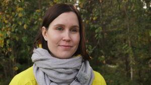 Kati Parkkinen, metsäinen tausta