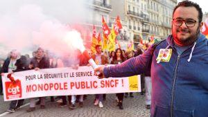 Rökbomb i Marseille