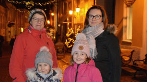 Gunilla, Johanna, Sofia och Clara Backman