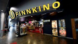 Finnkinos biograf på köpcentret Iso Omena i Esbo i april 2017.