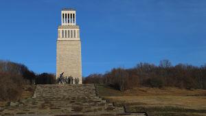 Minnesmärke som byggdes under DDR-tiden