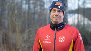 Personporträtt på Henrik Malmberg
