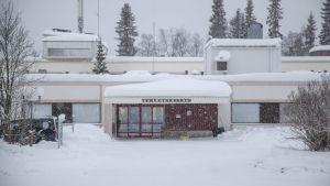 Hälsovårdscentralen i Ivalo i Enare kommun den 24 januari 2020.