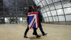 Britannian lippu poistetaan Eurooppa-neuvoston rakennuksesta
