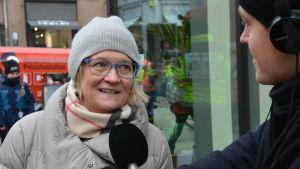 Nina Hyvönen, Cygnaeus skola i Åbo