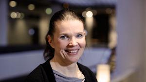 Suomen Olympiakomitean lääkäri Maarit Valtonen.
