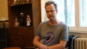 Svante Andström förlorade sin hustru i cancer 2019.