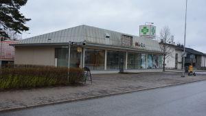 Den fastighet där hemsjukhuset Luotsi fanns tidigare i Åbo.