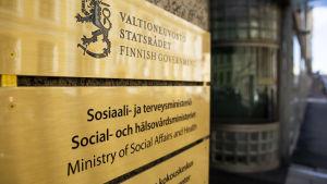 social och hälsovårdsministeriet