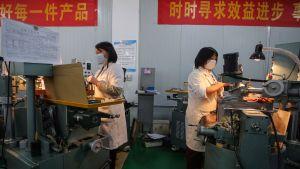 Fabrik i Wuhan