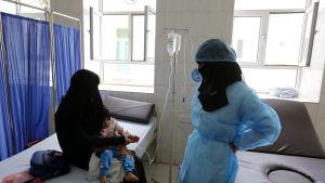 Klinik i Sanaa, Jemen 9.9.2019