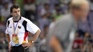 Heiner Brand, tränare i OS 2008.