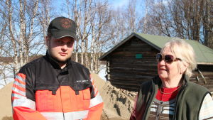 Roope Koukkula ja Kaarina Koski