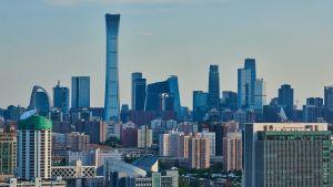 Pekingin horisontti, korkeita rakennuksia