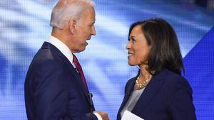 Joe Biden och Kamala Harris