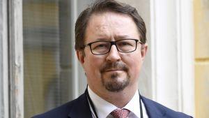 Mika Salminen, hälsosäkerhetschef vid Institutet för hälsa och välfärd THL.
