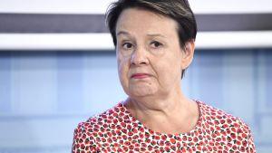 Kirsi Varhila, kanslichef vid social- och hälsovårdsministeriet.