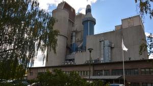 Cementfabrik i Pargas.