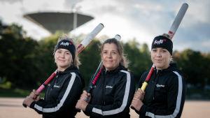 Charlotta Höglund, Kaisa Höglund och Camilla Höglund