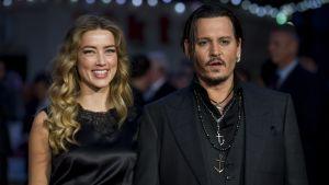 Amber Heard och Johnny Depp