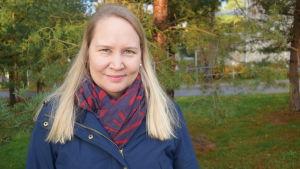 Läkare Jutta Peltoniemi.
