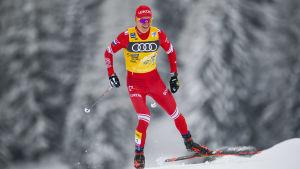 Bolsjunov åker i Tour de Ski.