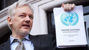 Julian Assange år 2016.