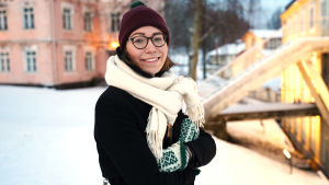 Porträttbild på Mette Pökelmann.