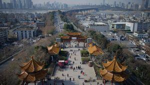Wuhan, januari 2021