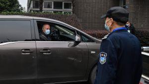 WHO:s forskningsteam i Kina för att utreda coronavirusets ursprung