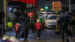 Palestinier i Gaza 16.2.2021