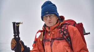 Erik Scalin, som trivs på isen med sina skridskor
