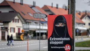 Folkomröstning i Schweiz om burka och nikab