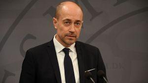 Danmarks hälsovårdsminister Magnus Heunicke