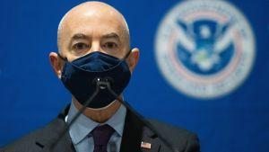 USA:s minister för inrikes säkerhet Alejandro Mayorkas.