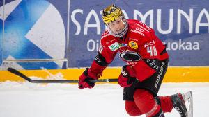 Sebastian Wännström toppar ligans skytteliga.