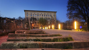 bild på technoklubben Berghain