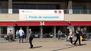 Vaccineringscenter i Madrid