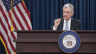 Usa s centralbank hojde styrrantan