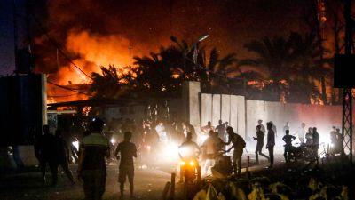 Irakiska valdsamheter okar