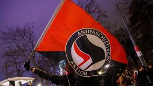 Antifas flagga